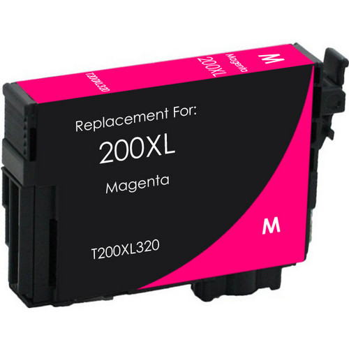 Remanufactured replacement for Epson T200XL320 magenta ink cartridge