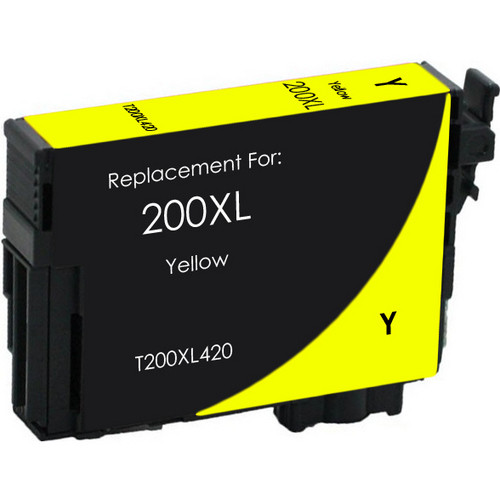 Remanufactured replacement for Epson T200XL420 yellow ink cartridge