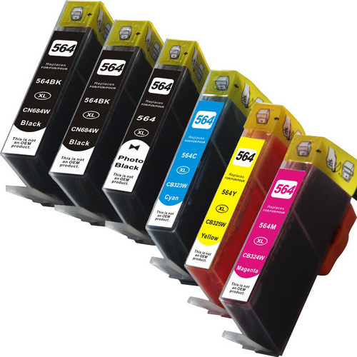 HP 564XL photo black and color set