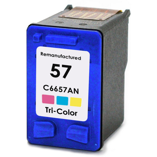 Remanufactured replacement for HP 57 (C6657AN) color ink cartridge