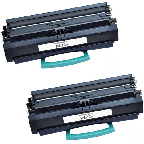 Twin Pack - Remanufactured replacement for Lexmark E-238 (23820SW)