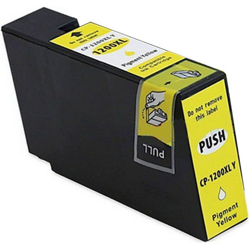Compatible replacement for Canon PGI-1200XL (9198B001) high yield yellow ink cartridge