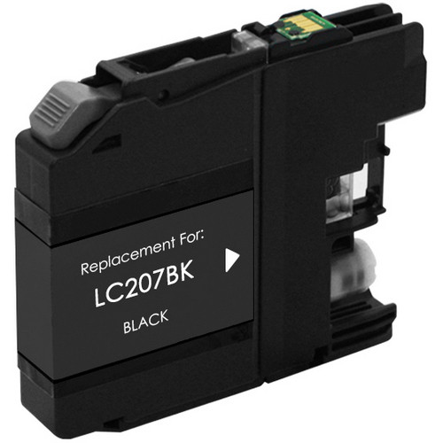 Brother LC207Bk extra high yield black ink cartridge