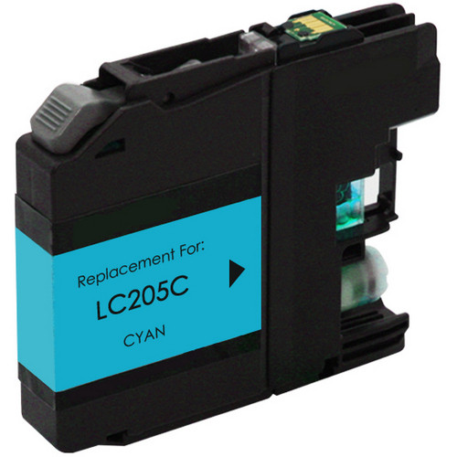Brother LC205C extra high yield cyan ink cartridge