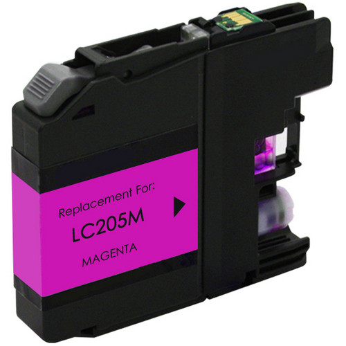 Brother LC205M extra high yield magenta ink cartridge
