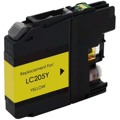 Brother LC205Y extra high yield yellow ink cartridge