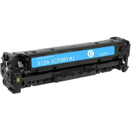 HP 312A (CF381A) cyan laser toner cartridge