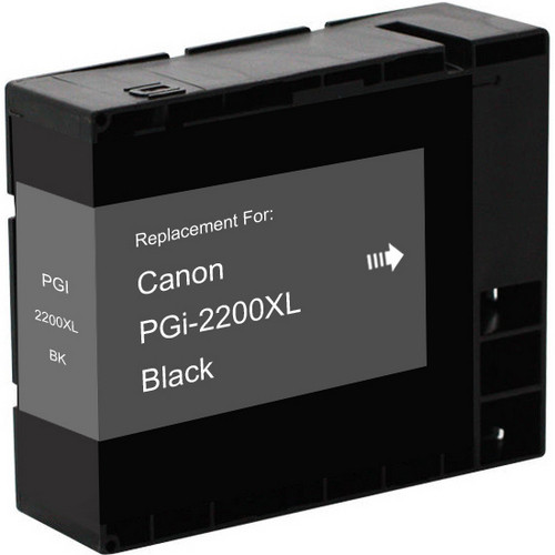 Compatible replacement for Canon PGI-2200xl (9255B001) high yield black ink cartridge