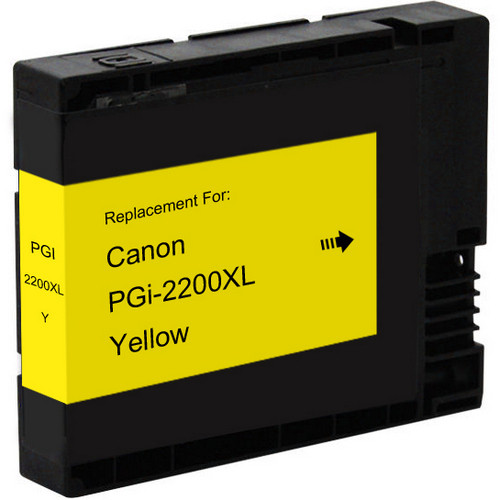 Compatible replacement for Canon PGI-2200xl (9270B001) high yield yellow ink cartridge