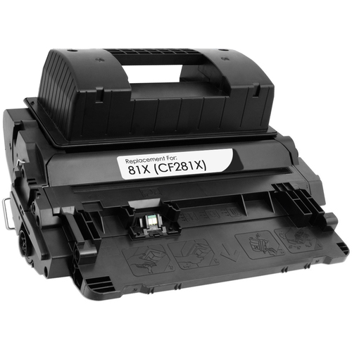 Compatible replacement for HP 81X (CF281X) black toner cartridge