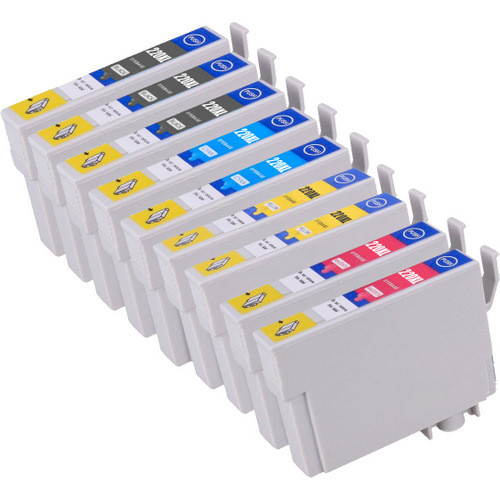 Epson 220XL High Yield Combo Pack of 9, Includes 3 black, 2 cyan, 2 magenta and 2 yellow