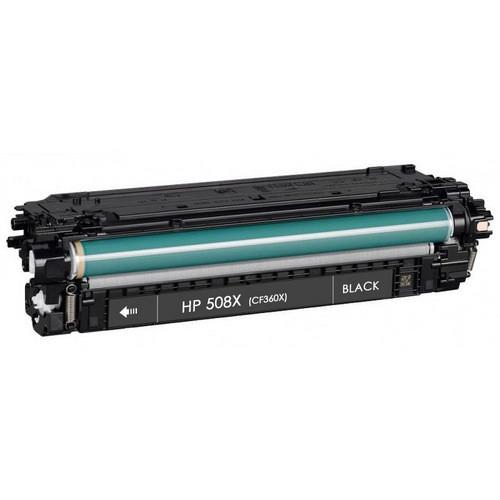 HP 508X (CF360X) Toner Cartridge Black High Yield