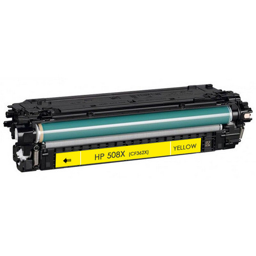 HP 508X (CF362X) Toner Cartridge Yellow High Yield