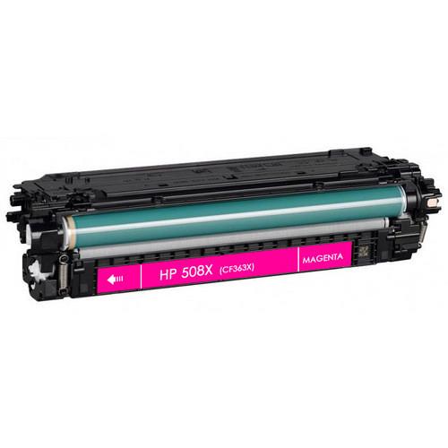 HP 508X (CF363X) Toner Cartridge Magenta High Yield