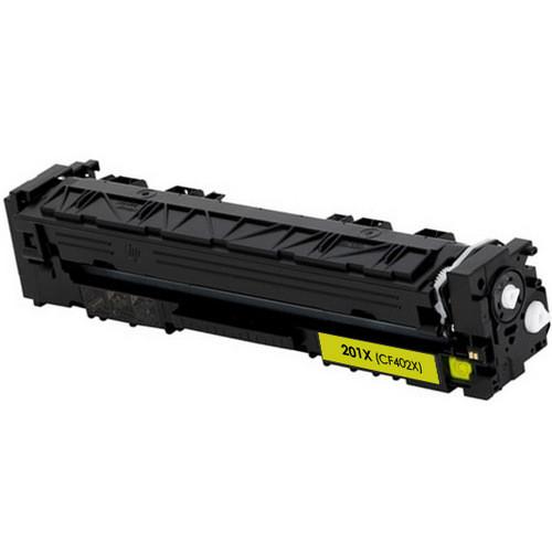 HP 201X (CF402X) Toner Cartridge Yellow High Yield