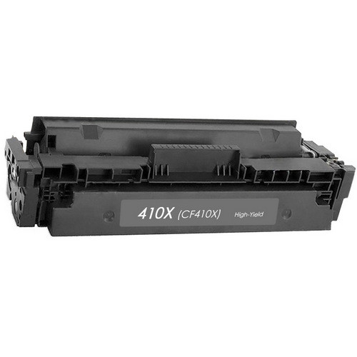 HP 410X (CF410X) Toner Cartridge Black High Yield