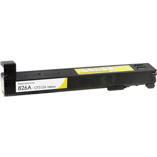HP 826A (CF312A) Toner Cartridge Yellow High Yield