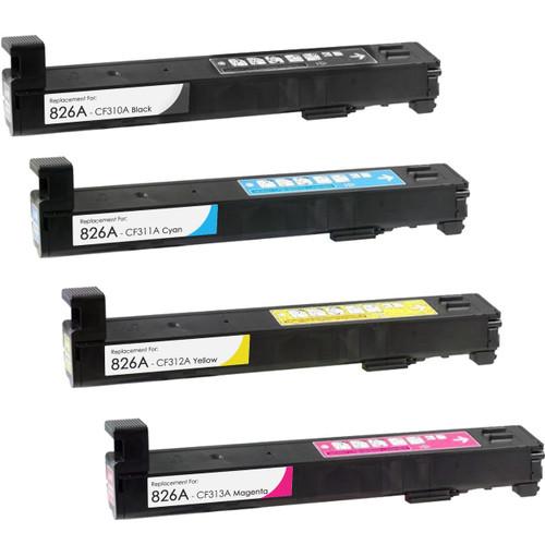 HP 826A Toner Cartridge High Yield Combo Pack