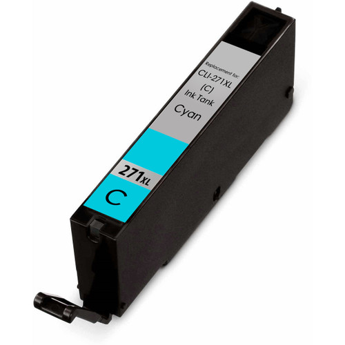 Canon Cli-271XL High Yield Compatible Ink Cartridge, Cyan
