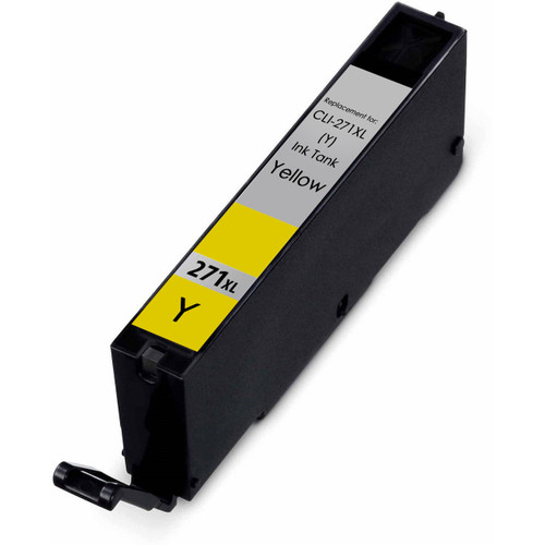 Canon Cli-271XL High Yield Compatible Ink Cartridge, Yellow