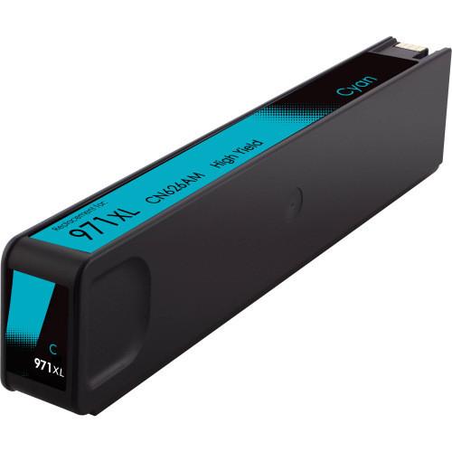 HP 971XL Cyan Ink Cartridge, High Yield