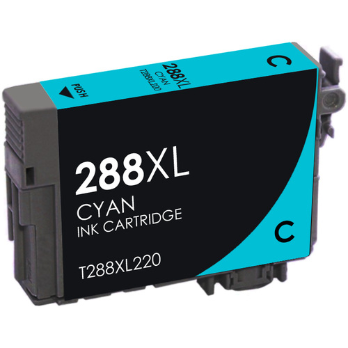 Replacement Ink Cartridge For Epson 288XL Cyan