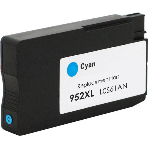 Replacement Ink Cartridge For HP 952XL Cyan