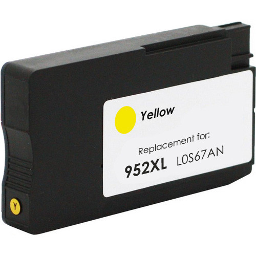 Replacement Ink Cartridge For HP 952XL Yellow