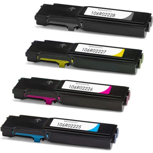 Xerox 106R02228 laser toner cartridges - Black and color set