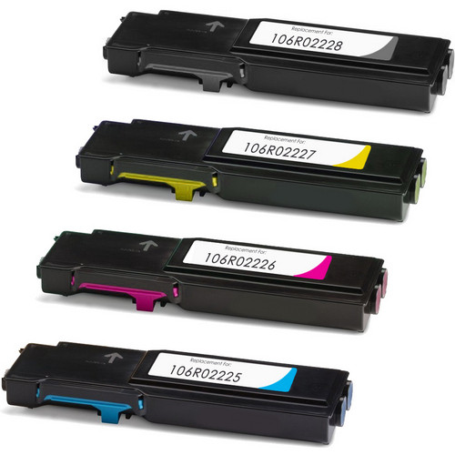 Xerox 106R02228 laser toner cartridges - Black and color set