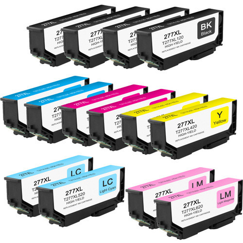 14 Pack - High Yield Ink Cartridge For Epson 277XL Set