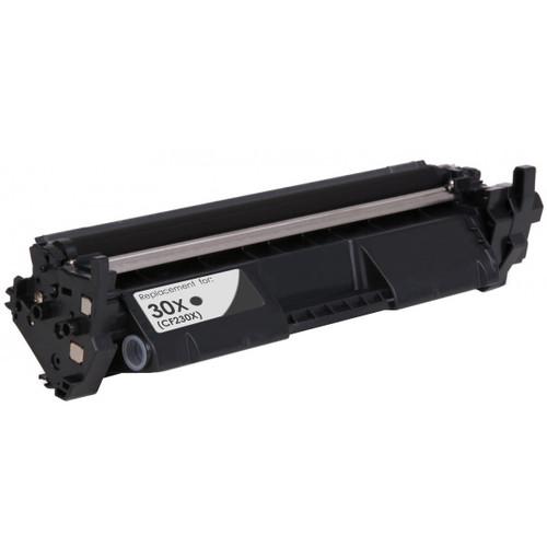 HP 30X Black Toner Cartridge, High Yield (CF230X)