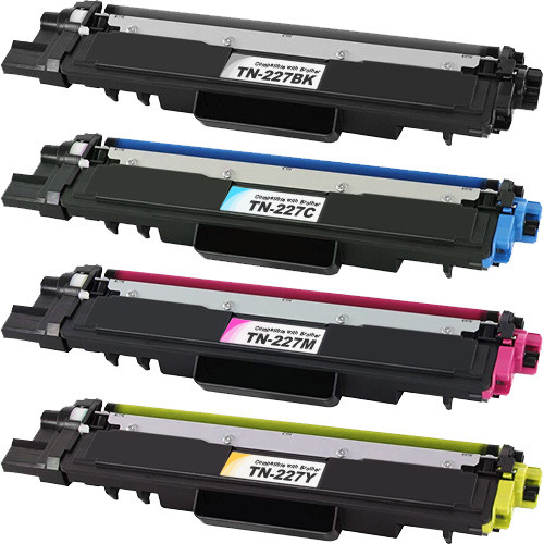 Brother TN227 Black and Color Toner Set