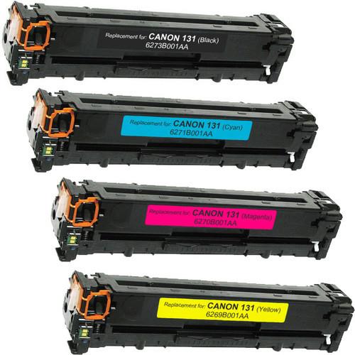 Canon 131 Toner Cartridge Set - 4 Pack