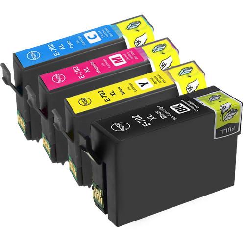 Epson T702XL Ink Cartridge Set, High Yield