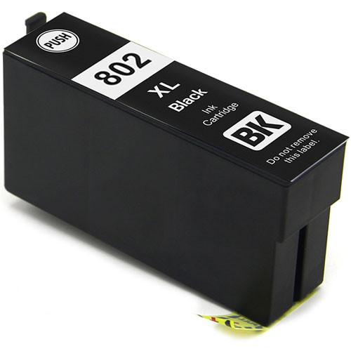 Epson 802XL Black Ink Cartridge, High Yield (T802XL120)