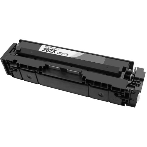 HP 202X Black Toner Cartridge, High Yield (CF500X)
