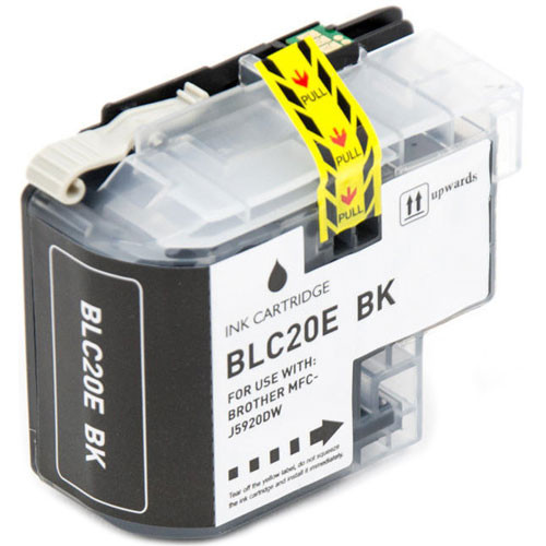 Brother LC20E Black Ink Cartridge, Super High-Yield