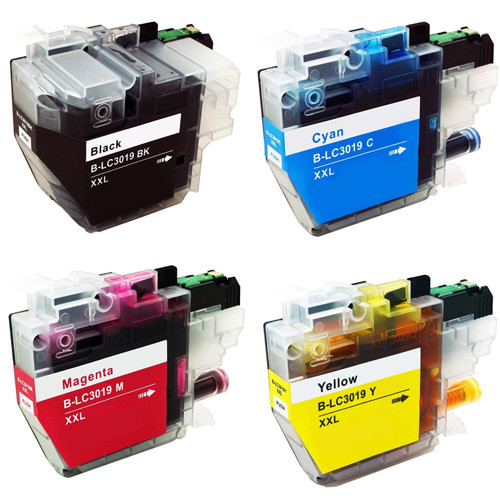 Brother LC3019 Ink, Super High-Yield - 4 Pack