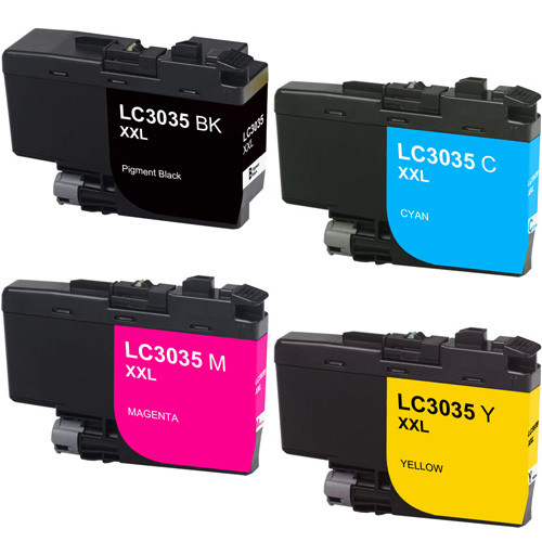 Brother LC3035 Ink, Ultra High-Yield - 4 Pack