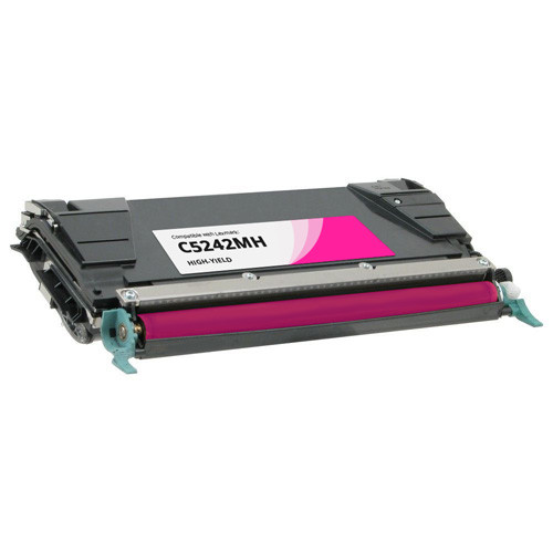 Lexmark C5242MH High-Yield Magenta Toner Cartridge