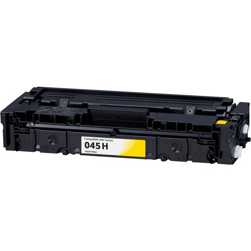 Canon 045H High-Yield Yellow Toner Cartridge