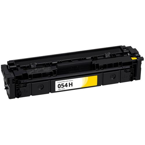 Canon 054H High-Yield Yellow Toner Cartridge