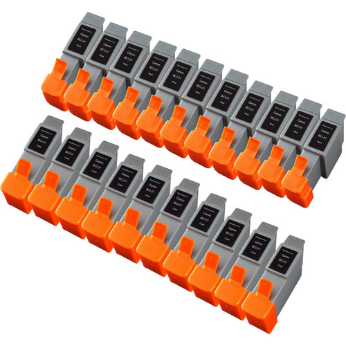 20 Pack - Compatible replacement for Canon BCI-21 series ink cartridges