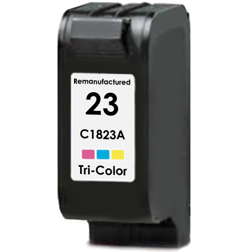 Remanufactured replacement for HP 23 (C1823A) color ink cartridge