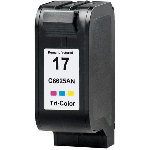 Remanufactured replacement for HP 17 (C6625A) color ink cartridge