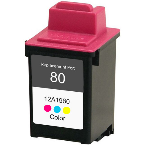 Remanufactured replacement for Lexmark #80 (12A1980)