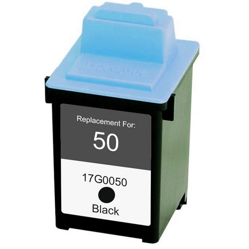 Remanufactured replacement for Lexmark #50 (17G0050)
