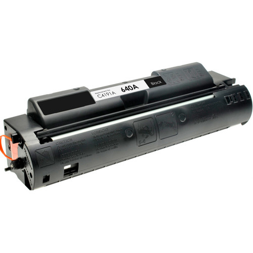 Remanufactured replacement for HP 640A (C4191A) black laser toner cartridge