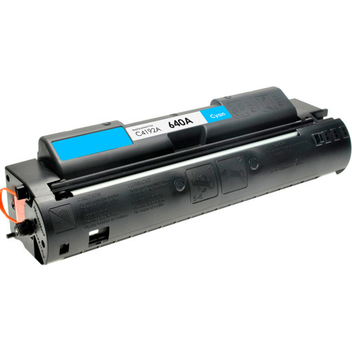 Remanufactured replacement for HP 640A (C4192A) cyan laser toner cartridge
